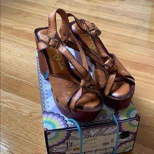 Irregular Choice Kylie Spaghetti Sandals | Size 10